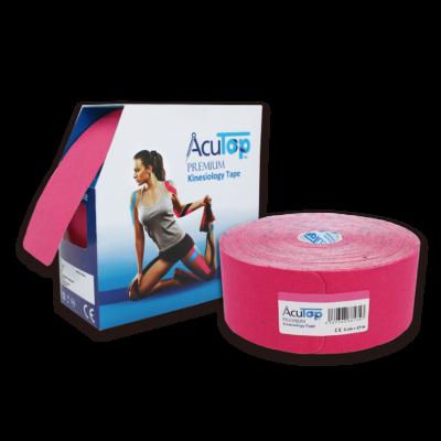 AcuTop Prémium kineziológiai tapasz XXL 17 m-es (pink)