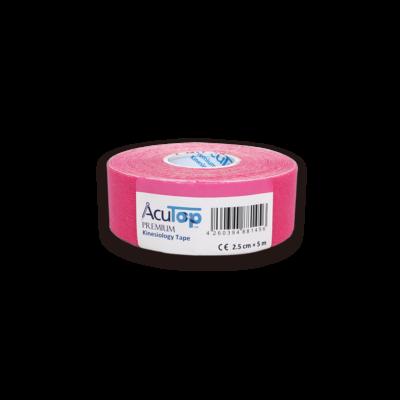 AcuTop Prémium kineziológiai tapasz - 2,5 cm x 5 m (pink)