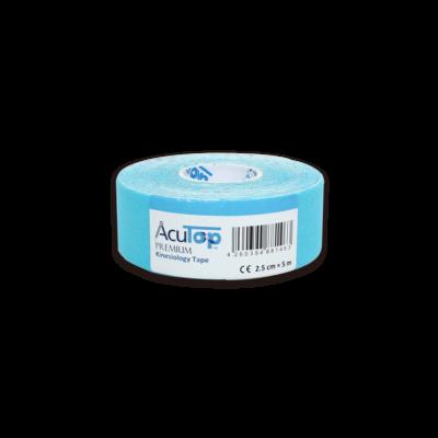 AcuTop Prémium kineziológiai tapasz - 2,5 cm x 5 m (kék)