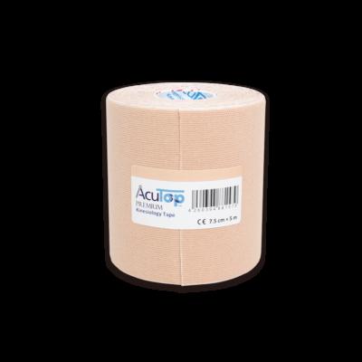 AcuTop Prémium kineziológiai tapasz - 7,5 cm x 5 m (bézs)
