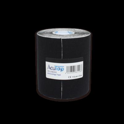 AcuTop Prémium kineziológiai tapasz extra széles (fekete)