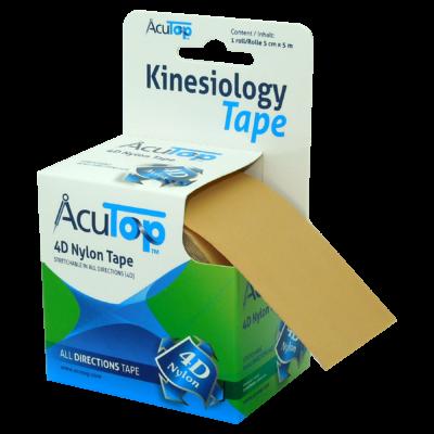 AcuTop 4D kineziológiai tapasz bézs