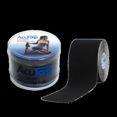 AcuTop Prémium kineziológiai tapasz (fekete)