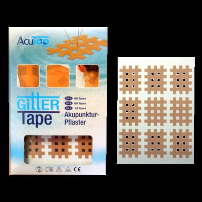 "AcuTop Gitter Tape / Cross Tape ""kis méret"" - bézs (doboz/20ív)"