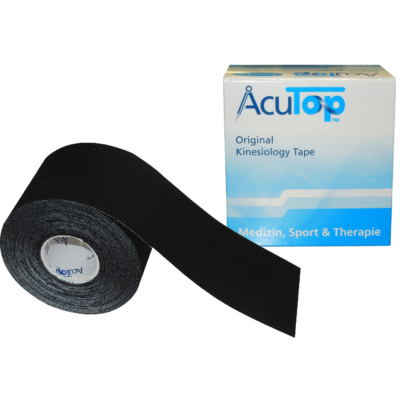 AcuTop kineziológiai tapasz (fekete)