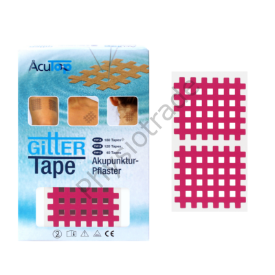 AcuTop Gitter Tape / Cross Tape - pink (ív)