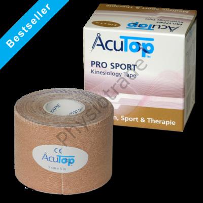 AcuTop Pro Sport kineziológiai tapasz (bézs)