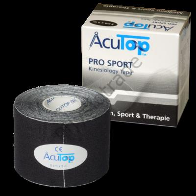 AcuTop Pro Sport kineziológiai tapasz (fekete)