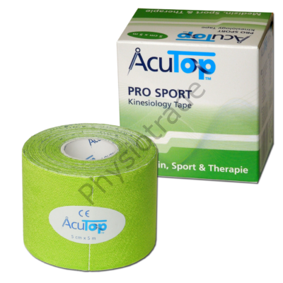 AcuTop Pro Sport kineziológiai tapasz (lime zöld)