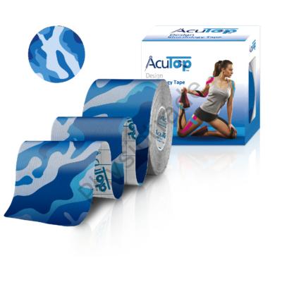 AcuTop Design kineziológiai tapasz (kék terep)