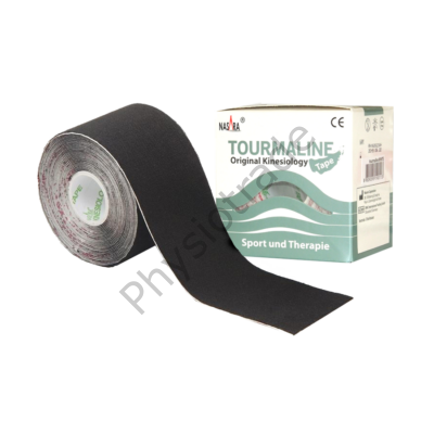 Nasara Turmalin tape (fekete)