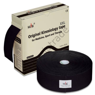 Nasara kineziológiai tapasz - 32 méter (fekete)