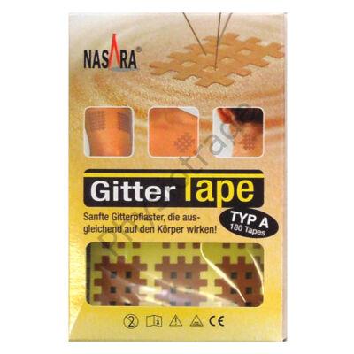 """Nasara Gitter Tape / Cross Tape """"kis méret"""" (doboz/20ív)"""