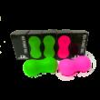 REA mogyoró alakú masszázslabda (pink)