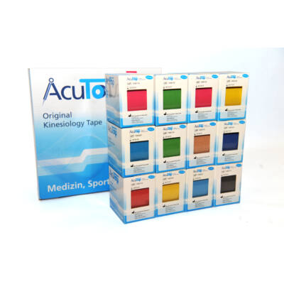 AcuTop kineziológiai tapasz 12-es csomag (tetszőleges színekben)