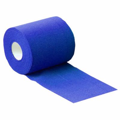 Rugalmas öntapadó rögzítőbandázs (8cm x 20m) - kék