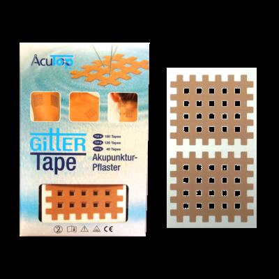 "AcuTop Gitter Tape / Cross Tape ""nagy méret"" bézs (doboz/20ív)"