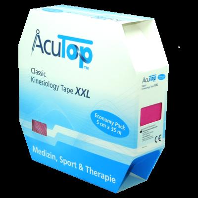 AcuTop Classic kineziológiai tapasz XXL (rózsaszín)