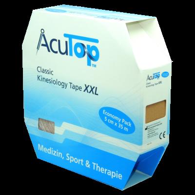 AcuTop Classic kineziológiai tapasz XXL (bézs)