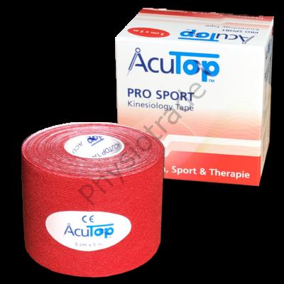 AcuTop Pro Sport piros 5cmx5m