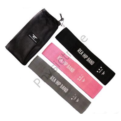 REA Hip Band erősítő gumiszalag (3db-os, pink)
