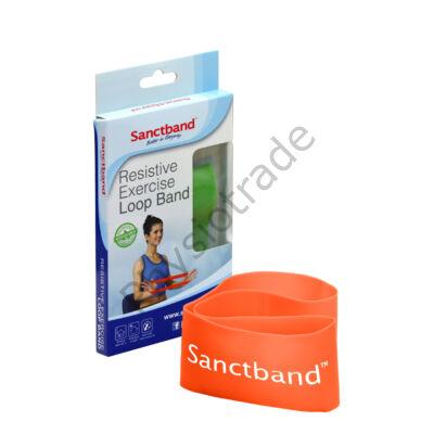 Sanctband Loop Band - erősítő gumiszalag (könnyű, narancs)