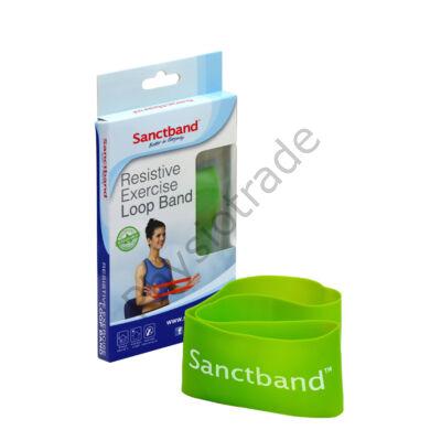 Sanctband Loop Band - erősítő gumiszalag (közepes, lime)