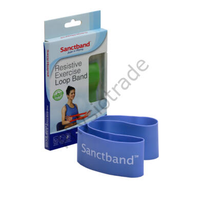 Sanctband Loop Band - erősítő gumiszalag (erős, kék)
