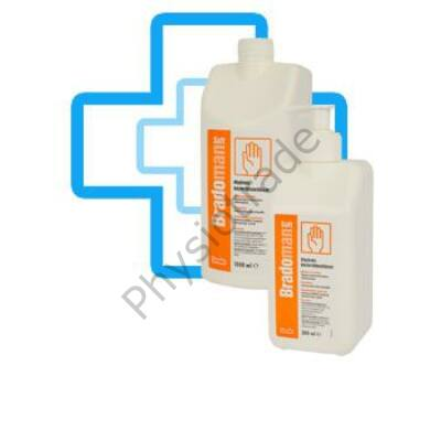 Bradoman Soft higiénés kézfertőtlenítő szer 500ml pumpás