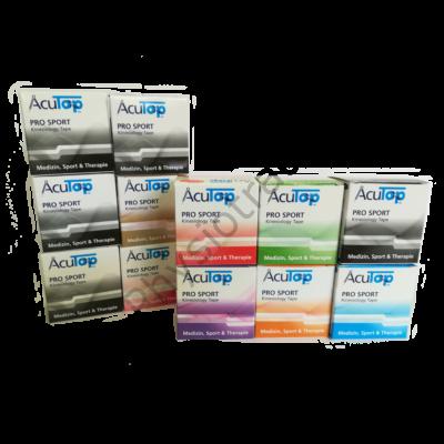 AcuTop Pro Sport kineziológiai tapasz 12-es csomag (tetszőleges színben)