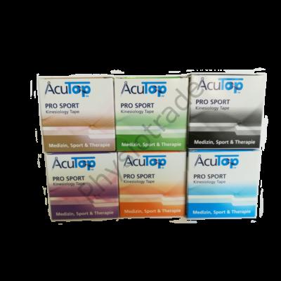 AcuTop Pro Sport kineziológiai tapasz 6-os csomag (tetszőleges színben)