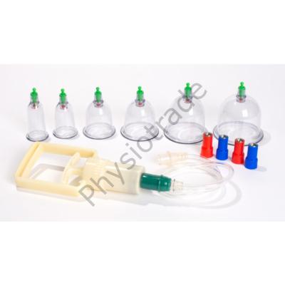 Vákumos műanyag köpölyöző készlet (6db)