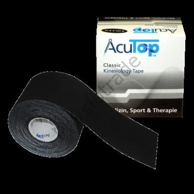 AcuTop Classic kineziológiai tapasz (fekete)
