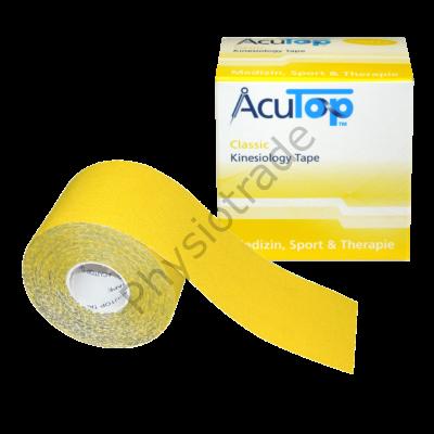 AcuTop Classic kineziológiai tapasz (citromsárga)