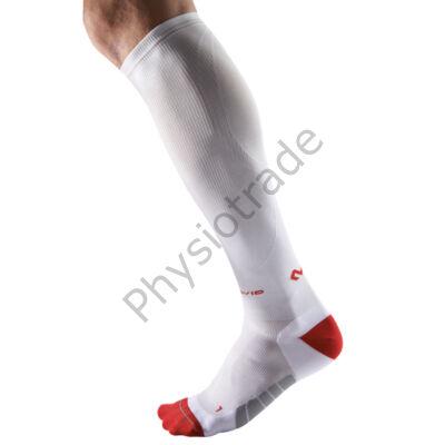 McDavid ELITE kompressziós zokni futóknak fehér